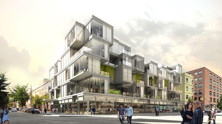 """ODA busca llevar las """"cualidades de la vivienda privada"""" a la vivienda colectiva en Brooklyn"""