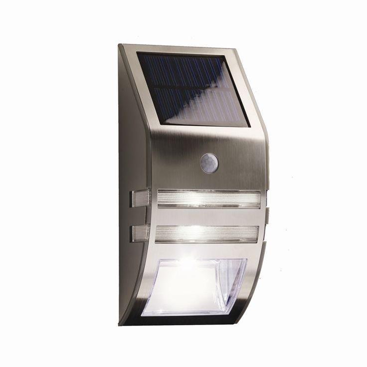 Stunning Lytworx Stainless Steel Warm White LED Solar Security Light