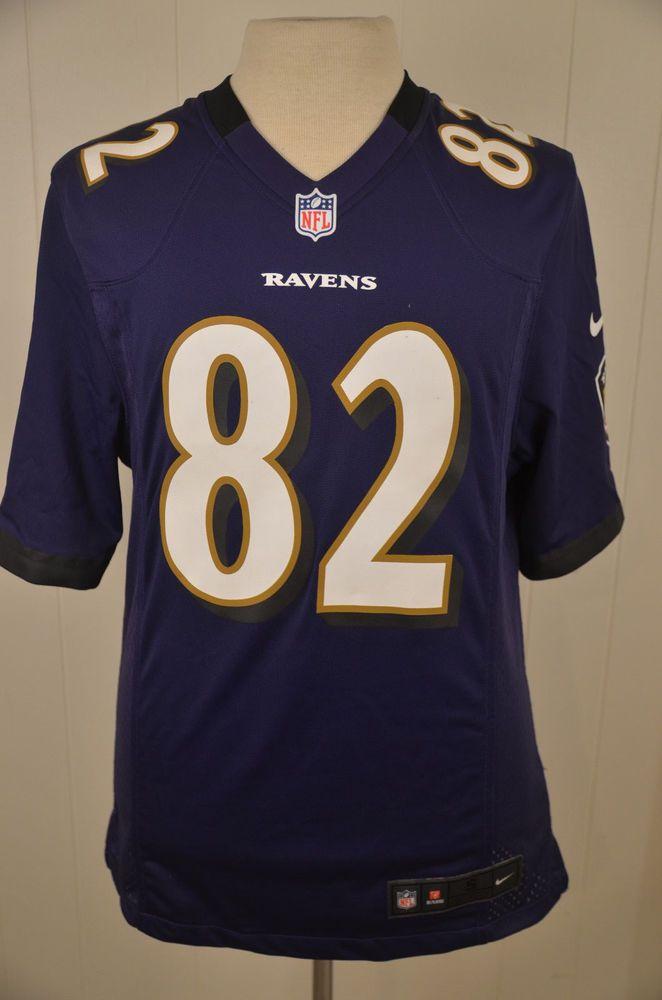 buy online dc41b 814b1 Nike Baltimore Ravens Replica NFL Jersey #82 Torrey Smith ...