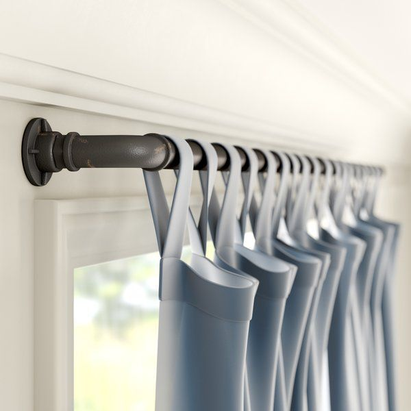 Hoffman Industrial Single Curtain Rod Hardware Set With Images