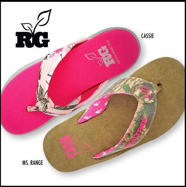 #New Realtree Girl Camo Flip Flops #Realtreegirl #camoshoes