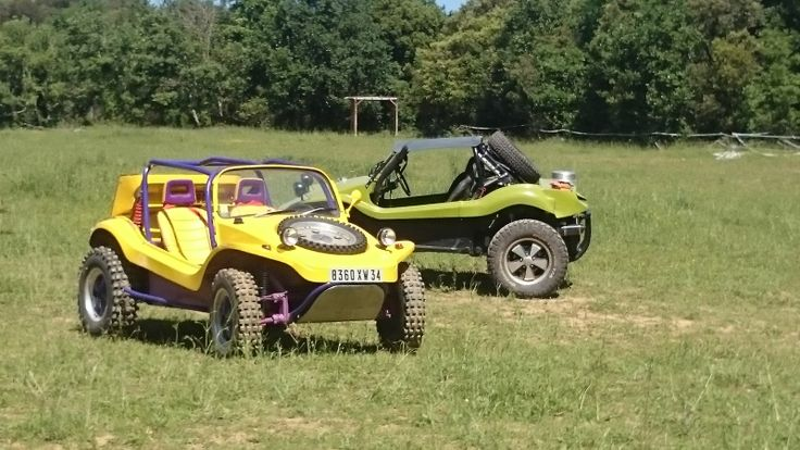 Week end bab buggy dans le Gard