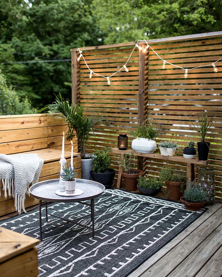 Les 25 meilleures idées concernant décoration de terrasse ...