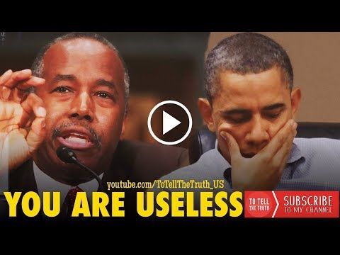 MUST WATCH! Ben Carson Wipes Smile Off Obama's Face! - YouTube