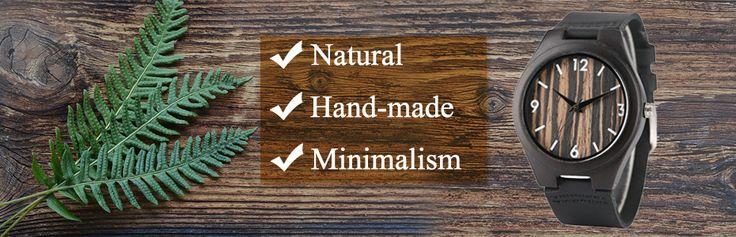 Creative Full Natural Wood Male Watches Handmade Bamboo Novel Fashion Men Women Wooden Bangle Quartz Wrist Watch Reloj de madera |