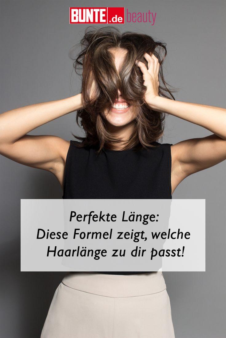 Typberatung Perfekte Lange Diese Formel Zeigt Welche Haarlange Zu
