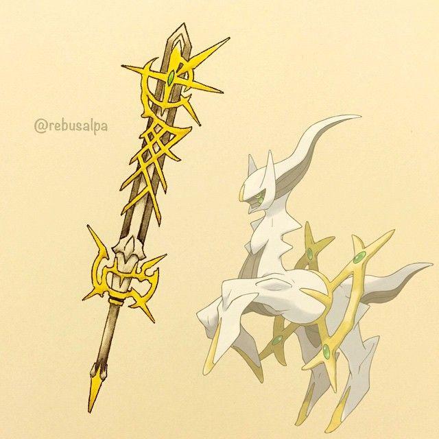 Pokeapon No. 493 - Arceus. #pokemon #arceus #ultimablade #kingdomhearts #pokeapon