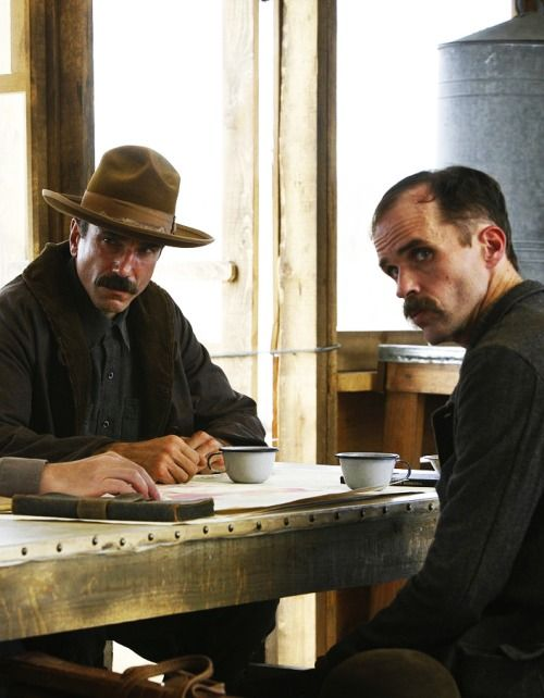 Daniel Day-Lewis & Kevin J. O'Connor in There Will Be Blood