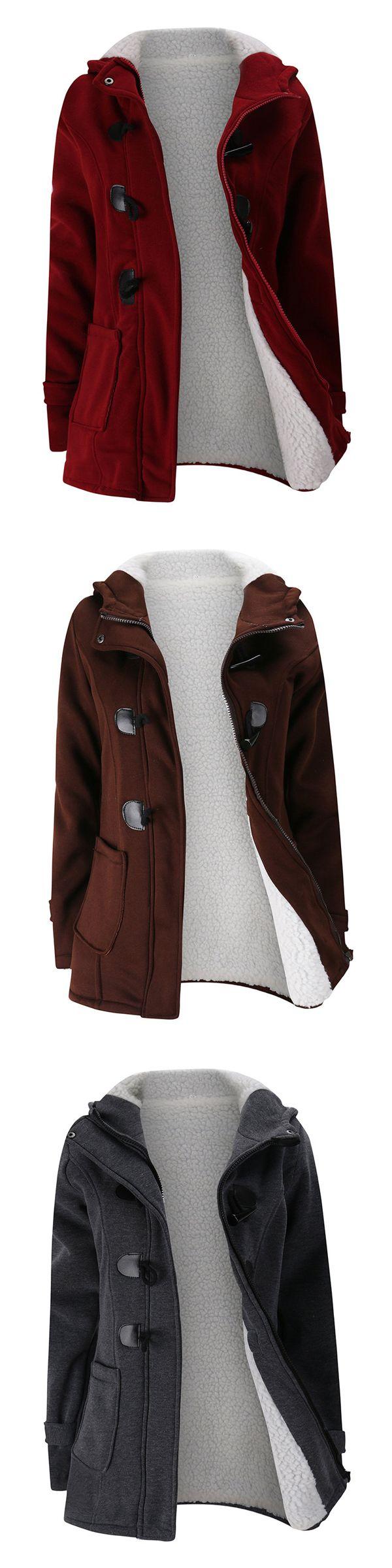 [Newchic Online Shopping] 47%OFF Women Thicken Coats