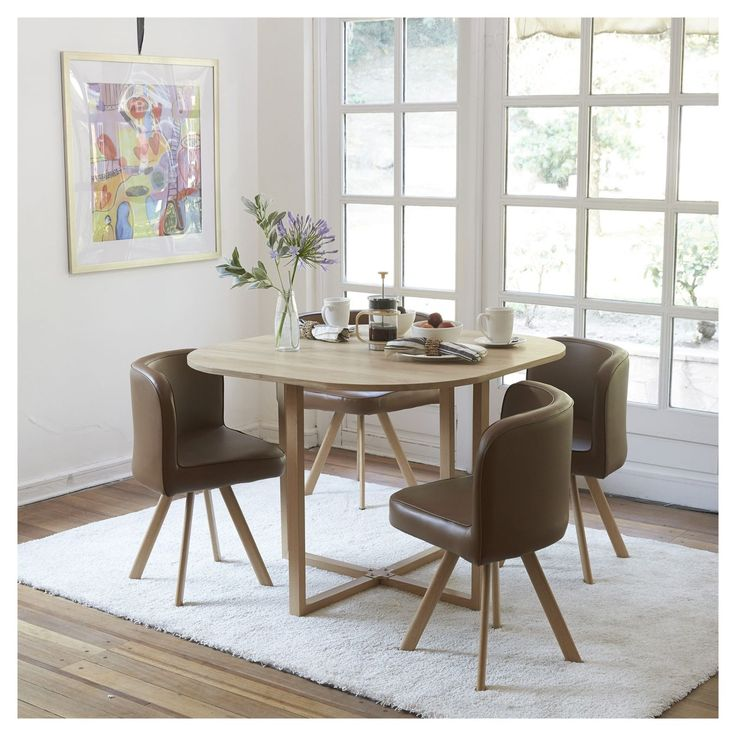44 best comedor images on pinterest cl dining rooms and for Juego de comedor redondo