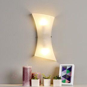 Glass vegglamper- Egner seg  ypperlig til belysning av f.eks. ganger.