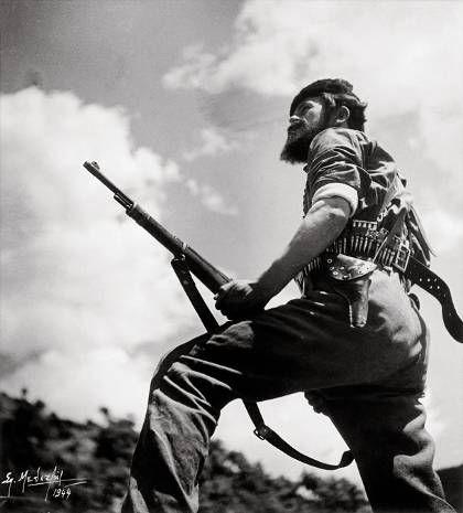 Σπύρος Μελετζής, Αντάρτης, Βίνιανη, Ευρυτανία, 1944, Αρχείο Σπύρου Μελετζή
