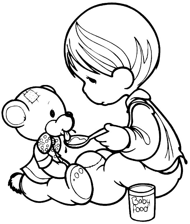 1070 best images about precious moments on pinterest for Precious moments nativity coloring pages