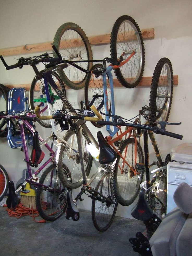 bike rack bike storage for the home or apartment
