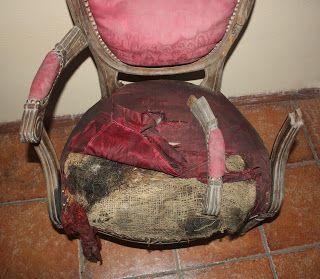 Academia de Arte y Creatividad. Pola de Siero: Restauración de un sillón estilo Luis XVI