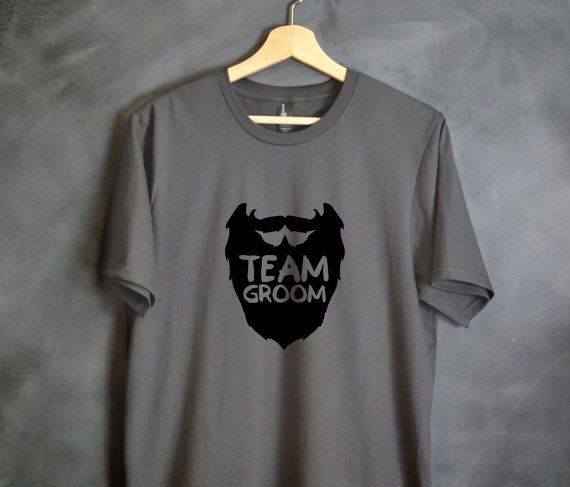 Team Groom Shirt Best Man Shirts Groomsmen by HelloHandpressed