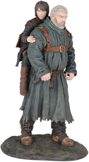 """Game of Thrones Hodor & Bran 9"""" Figure"""