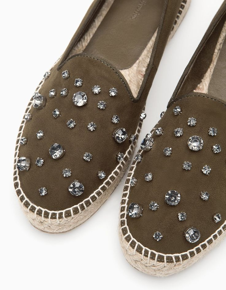 Jewelled espadrilles