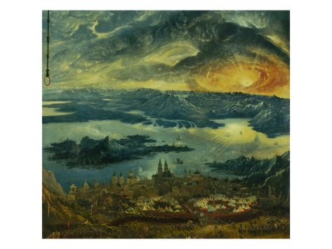 The Battle of Issus 333 V.Chr. (The Battle of Alexander), 1529. Camp of Tents Giclee Print by Albrecht Altdorfer at Art.co.uk