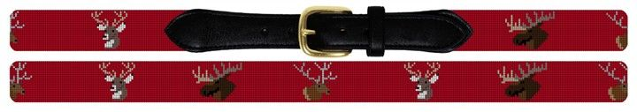 Big Game Needlepoint Belt |needlepaint.com