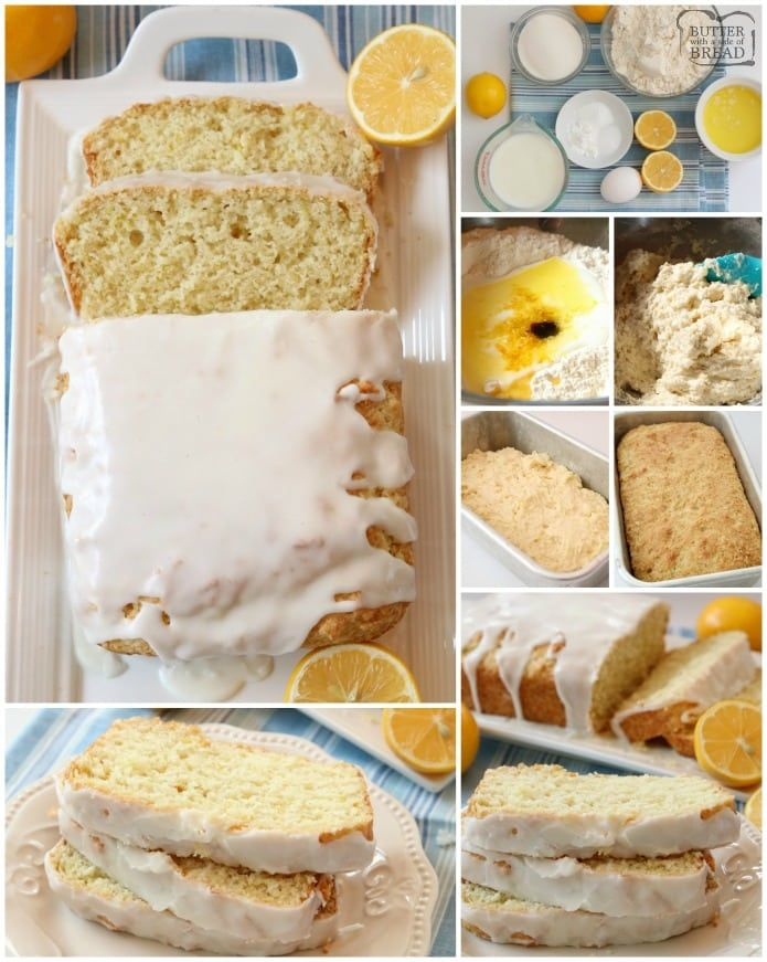 Lemon Buttermilk Bread Recipe Made With Simple Ingredients And Topped With A Bright Fresh Lemon Gl In 2020 Lemon Desserts Easy Lemon Bread Recipes Lemon Bread Recipes