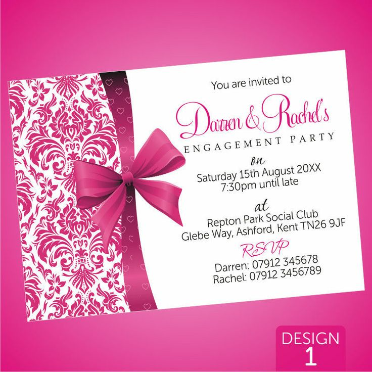 44 best Bridal Shower Inspiration images – Personalised Engagement Party Invitations