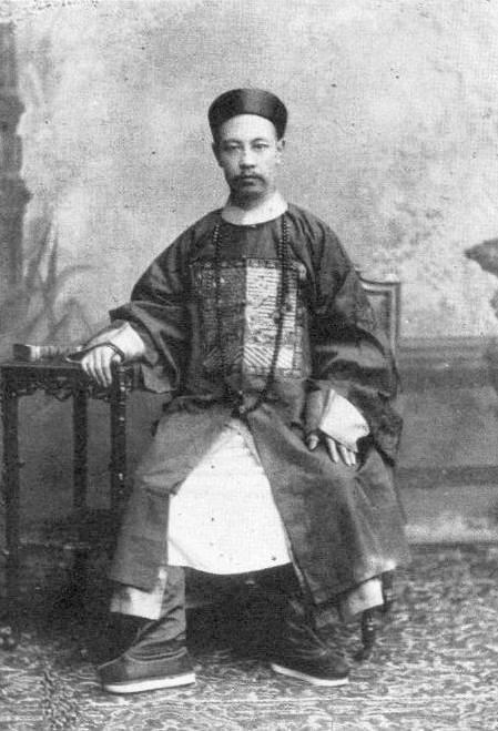 Quintín Quintana, líder del ejército chino que se sumó a las huestes chilenas en la Guerra del Pacífico.