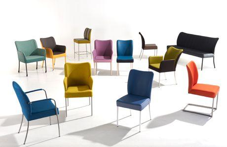 #Bert #Plantagie #Stoelen #Tango, Rumba, #Salsa en #Mambo #Tango, Rumba, Salsa en Mambo. Bert plantagie swingt als nooit tevoren. Op het vakevent Design District zat de stemming er goed in. Een feest van #kleur, een feest van herkenning, mét diverse #nieuwkomers in de familie. Meer informatie over #design #meubelen en #woninginrichting: http://www.wonenwonen.nl/meubelen/bert-plantagie-stoelen/6683