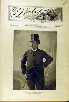 "Samuel ""Ward"" McAllister fell out of favor with Mrs. Caroline Astor when he"