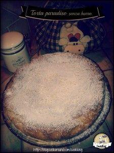 Torta Paradiso senza burro - CookKINGIngredienti: 200 gr farina 00 bianca 100 gr farina integrale 300 gr zucchero (io uso lo zucchero di canna integrale) 250 gr di olio di mais (o di riso) biologico 16 gr di lievito (si può usare lievito casalingo o quello commerciale) 3 uova 1/2 limone (scorza) 1 baccello di vaniglia (semi) zuccherini decorativi zucchero a velo