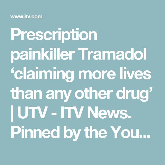 Prescription painkiller Tramadol 'claiming more lives than any other drug'   UTV - ITV News. Pinned by the You Are Linked to Resources for Families of People with Substance Use  Disorder cell phone / tablet app October 11, 2016;   Android- https://play.google. com/store/apps/details?id=com.thousandcodes.urlinked.lite   iPhone -  https://itunes.apple.com/us/app/you-are-linked-to-resources/id743245884?mt=8com