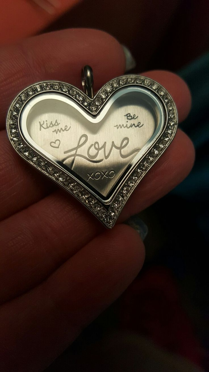 10 best origami owl valentines day collection 2018 images on large silver crystal heart locket from origami owl for valentines day make your own creation jeuxipadfo Images