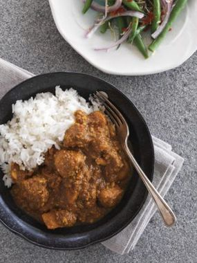 Zingy Balinese Chicken Curry