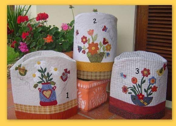 Capas de Bombona   Patchwork com carinho   7913A - Elo7