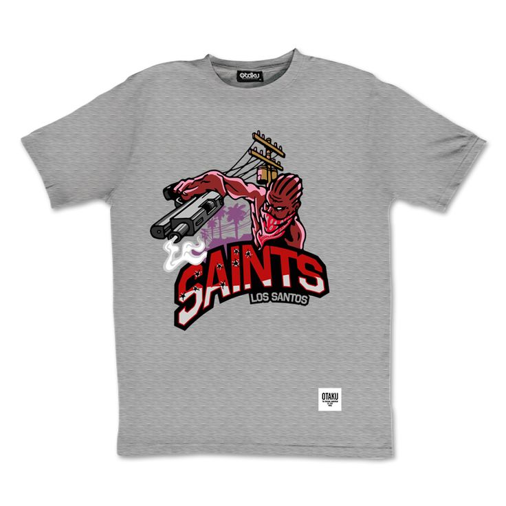 Tee-shirt GTA Los Santos Saints by Otaku Gamewear