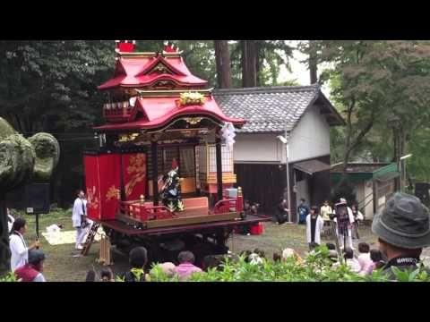 子供歌舞伎 #gobiwako #Shiga #Maibara  松翁山組 平成27年度神前奉納狂言「三番叟」 - YouTube