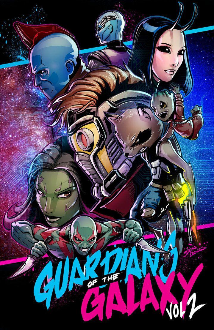 Guardians of the galaxy vol 2 by glencanlas