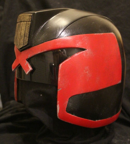 Judge Dredd Helmet Costume Prop Replica Full Size Dredd 2012 | eBay - man, i wish i had $300 to spare!
