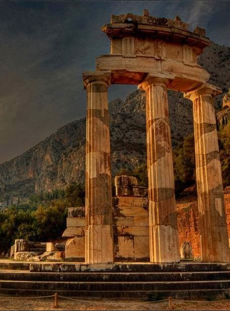 Delphi, Greece , from Iryna