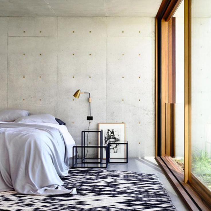 Concrete House   Bedroom   Auhaus Architecture  Est Living