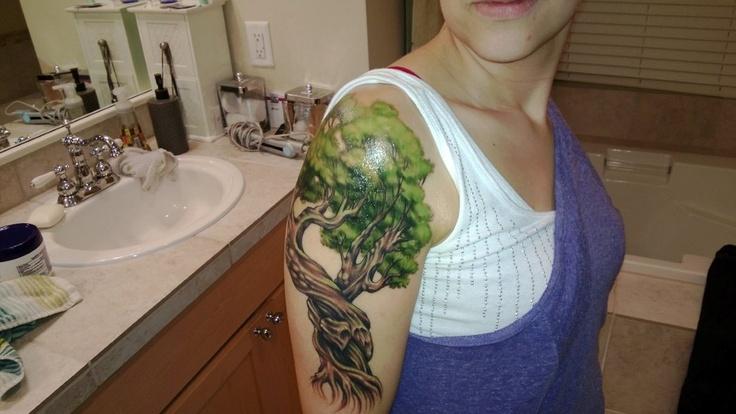My Olive Tree Tattoo
