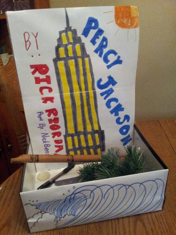 Percy Jackson Book In A Box Project Percy Jackson Books