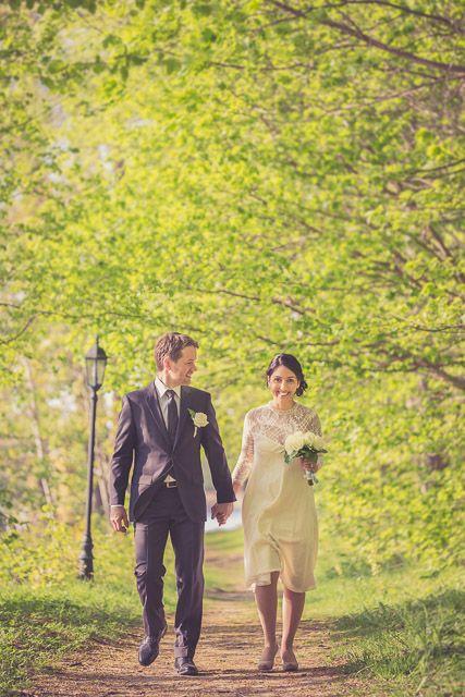Fantastiskt vårbröllop publicerat på www.dittbrollop.se / Foto: Bröllopsfotograf.nu / Swedish Wedding