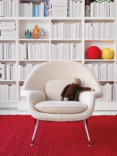 For The Kids Space Child Size Womb Chair Designed By Eero Saarinen For Knoll