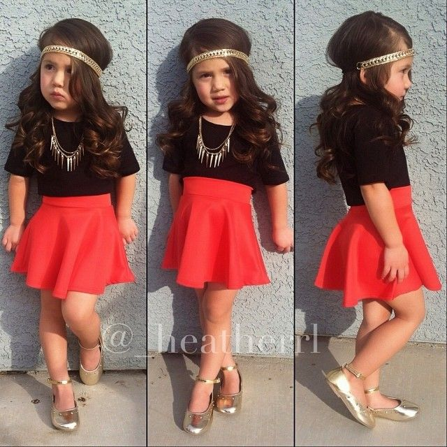kids fashion outfit girl