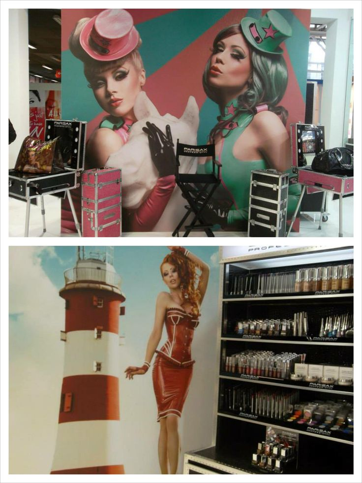 #ParisaxProfessional la Cosmoprof #Parisax #makeup #ParisaxRomania