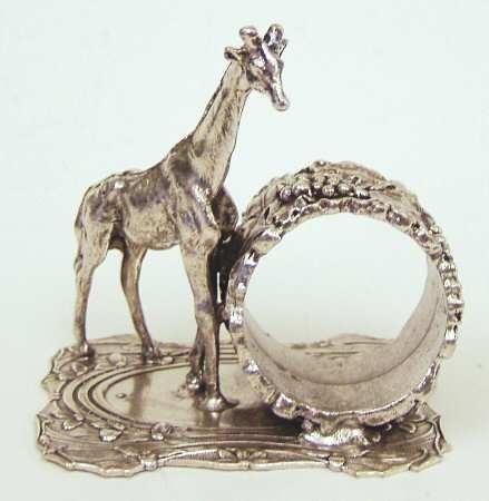 antique silverplate napkin ring~giraffe~rare - Bing Images