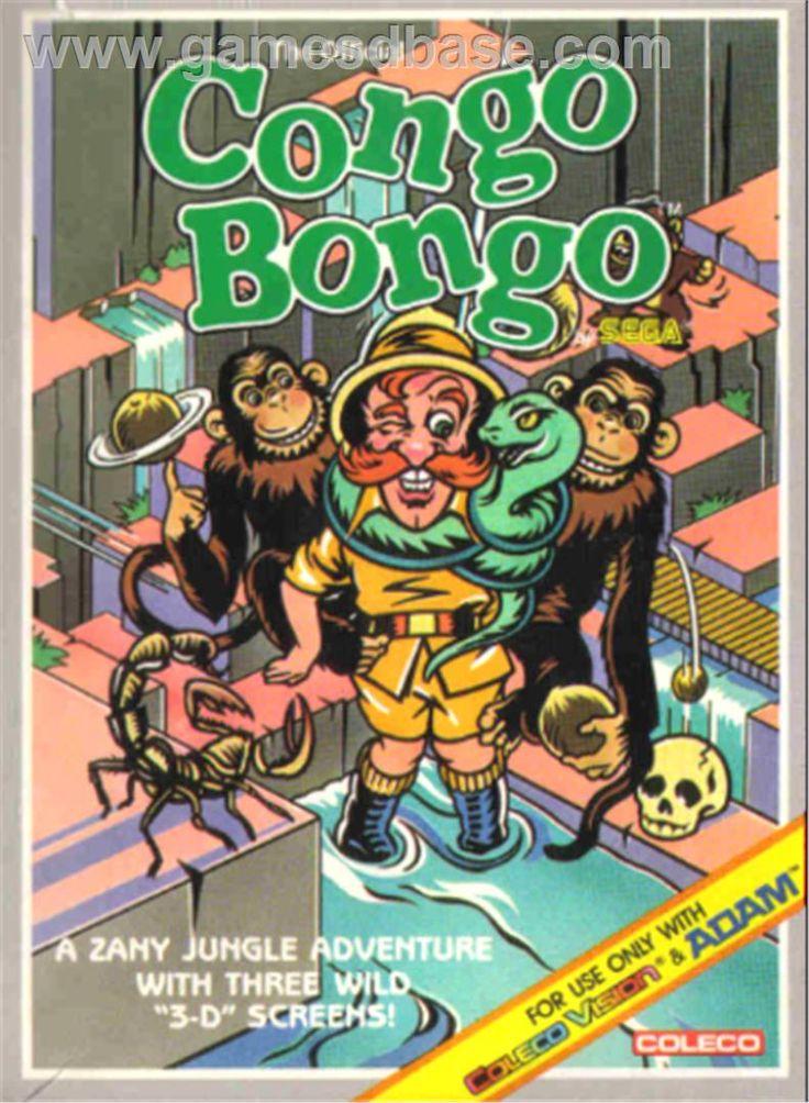 ... Congo Bongo | Games I wish I had new in box! | Pinterest | Congo