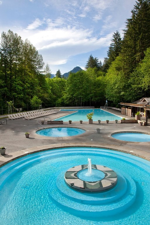 Sol duc hot springs olympic national park there is no for Cabin rentals olympic national forest