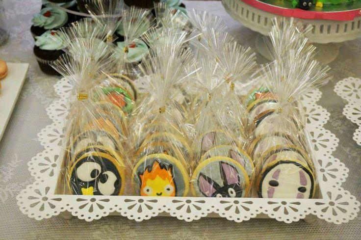 Ghibli studio theme cookies